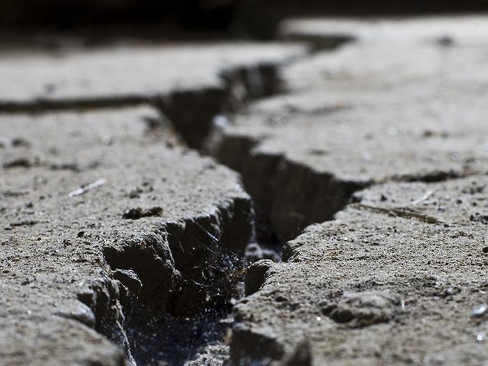 San Andreas fault rupture
